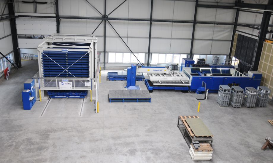 mteg Project Wilbers Werkstätten TRUMPF sheet metal machines, automation and Storage